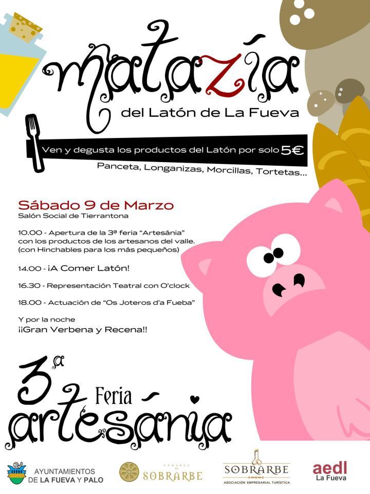 3ª Feria Artesania con degustación de Latón de La Fueva