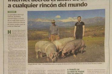 Entrevista en Heraldo de Aragón